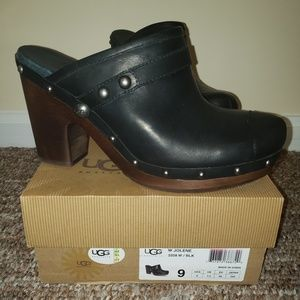 Uggs Jolene Mules size 9 Black